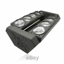 120W RGBW Spider Moving Head Stage Lighting 8 LED DMX512 Disco DJ Party Effect