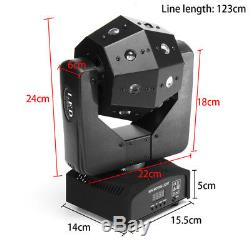 16 LED 4in1 RGBW DMX Moving Head Beam DJ Disco Club Party Stage Lighting Lamp