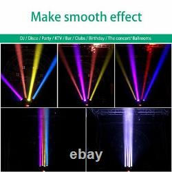 200W 4 LED Beam Moving Head Lights RGBW DMX Stage Party Show Disco Lighting 2021