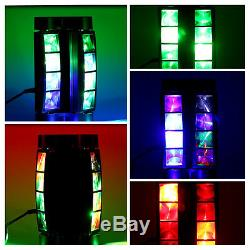 2PC 80W RGB 4in1 LED Stage Light Spider Beam Moving Head Disco DJ Party Lighting