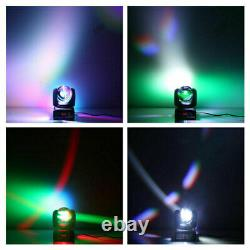 2X 80W Stage Lighting LED Double Sides Beam Moving Head DMX Disco DJ Party Light