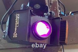 2 x CHAUVET OBESSION LED 2.0 DISCO LIGHTS. USED EX COND. Man Cave Garden Bar