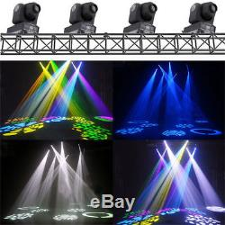 2pc LED Moving Head Beam Stage Lighting RGBW DMX Party KTV Disco Show Light 70W