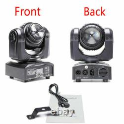 2x 80W LED DMX Moving Head Stage Lighting Double Sides DJ Disco Party Light UK