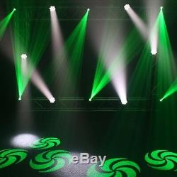 2x Equinox Fusion 100 Spot MKII DJ Disco Club LED Light Effect & FREE DMX Cable