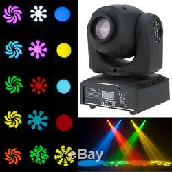 2x U`King 30W LED Moving Head Stage Light DMX Spot DJ Gobo DMX Disco Club Party