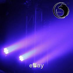 4PC 105W LED Moving Head Stage Lighting Spotlight DMX512 Club Disco Party lights