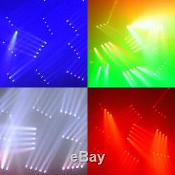 4Pcs 150W 4 LED 4IN1 Moving Head Stage Light RGBW DMX-512 13/39CH Disco Party
