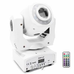 4X 80W Pattern Gobo Moving Head LED Stage Light Remote DMX Disco Club Party Show