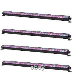 4 x Equinox RGB Power Batten MKII LED Light Display for DJ Disco Stage Party
