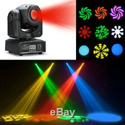 4x 30W LED Stage Light Spot RGBW DMX512 Moving Head 8 Pattern Party Disco Effect