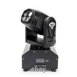 4x 4in1 RGBW Stage Lighting effect Disco DJ LED Moving Head DMX Spot Party Light