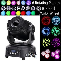 90W RGBW Spot LED Moving Head Gobos Stage Lighting DMX512 Disco Wedding Party