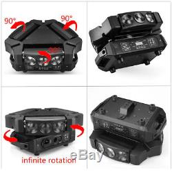 9x10W RGBW 4in1 LED Spider Moving Head Stage Lighting Effect DMX512 DJ Disco