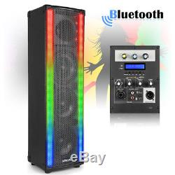 B-Stock Bluetooth Disco Home Party Speaker with LED Metering Mood Light Wave