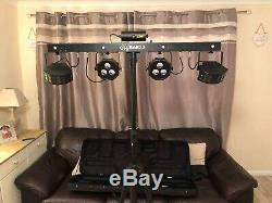 CHAVUET DISCO STAGE EFFECT LIGHT LED BAR WITH LASER. Case and stand included