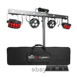 Chauvet GIG BAR 2.0 DJ Disco 4-in-one LED Lighting Package (No Stand) + Warranty