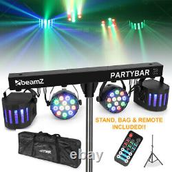 Derby FX LED Party Bar Light PAR All In One Disco Stage Band Lighting with Bag
