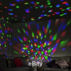 Disco Ball Wireless Bluetooth Party Music Speaker & Radio Multi Led Light Show