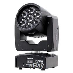 Equinox Fusion 120 Zoom MKII 7x12W Moving Head DJ Disco Stage LED Light Effect