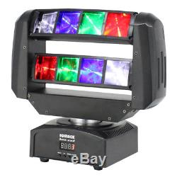 Equinox Hot Rod Moving Head DJ Disco Party Club 8 x 3W LED Beam Lighting Effect