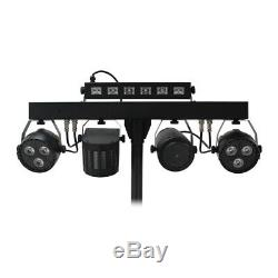 Equinox Microbar Multi Reloaded Compact All-in-one Led Dj Disco Lighting Package