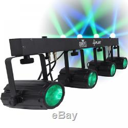 GRADED Chauvet DJ 4Play LED Lighting Effects Package 4 Play Disco FX Inc Bag
