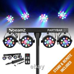 LED Party Bar Light PAR All in One Disco Stage FX Lighting System with Stand