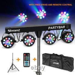 LED Party Bar Light PAR All in One Disco Stage FX Lighting with Stand and Bag