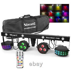 LED Show Bar Light All In One Party FX DJ Gig Stage Band Disco Lighting System