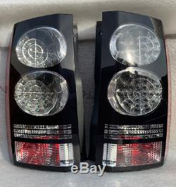 Land Rover Discovery4 LR4 Disco4 Black LED facelift style rear lights tail light