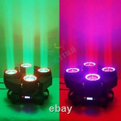 NEW 200W Moving Head Stage Lighting 4 LED RGBW DMX Lights Party Show Disco 2021