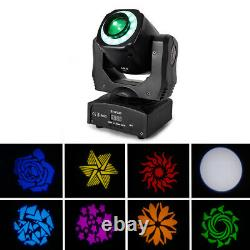 New 100W Moving Head Light LED RGBW 8Pattern Gobo Stage Lighting Disco DJ Party