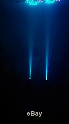 Pair Of moving head Disco Lights new year Xmas party very bright LED