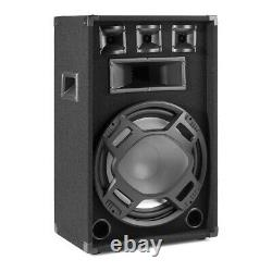 Party Speakers 15 Passive (Pair) with Built-in LED Lights Disco DJ PA BS15