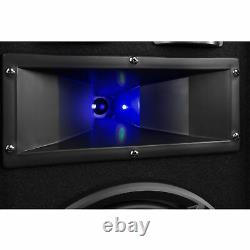 Party Speakers with Stands 10 with Built-in LED Lights Disco Bedroom DJ BS10
