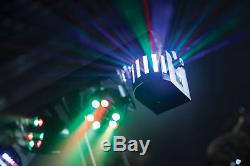 Qtx Derby Fx Led Party Bar All In One Disco Stage Band Dj Lighting System X 2