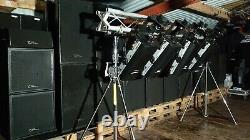 RRP£1,200 huge rave stage disco lights moving head mirror silverstar non led